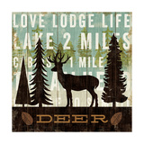 Simple Living Deer Posters by Michael Mullan