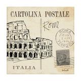 Postcard Sketches IV Giclee-tryk i høj kvalitet af Anne Tavoletti