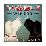 Doodle Wine Premium Giclee Print by Ryan Fowler