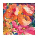 Wild Beach Roses II Premium Giclee Print by Dusty Knight