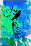 Anna Malkin - Birds Watercolor - Reprodüksiyon