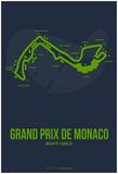 Monaco Grand Prix 2 Posters par  NaxArt