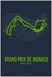 Monaco Grand Prix 2 Posters by  NaxArt