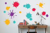 Paint Splatter Wall Decal