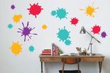 Schizzi di colore (sticker murale) Decalcomania da muro