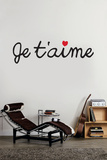 Je T'aime Wall Decal