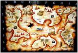Treasure Map Posters van  prawny