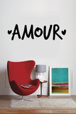 Amour Autocollant mural