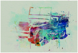 Jeep Willis Prints by  NaxArt
