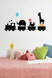Train de cirque Autocollant mural