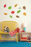 Leaves and Bug Wall Decal