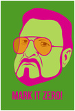 Mark It Zero Poster 2 Poster von Anna Malkin