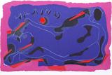 Galloping Horse (Homage a Marino) Impressão colecionável por Marino Marini