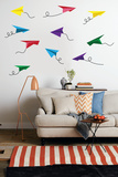 Paper Airplanes Wall Decal