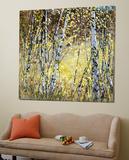 Treescape 5 Poster by Carole Malcolm
