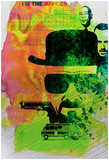 Heisenberg Watercolor Posters by Anna Malkin