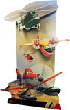 3D Planes Fire and Rescue Lifesize Standup Cardboard Cutouts