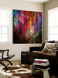 Crazy Colors 4 Print by  Jefd