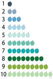 Avalisa - Cool Counting Apples - Poster