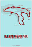 Belgian Grand Prix 3 Prints by  NaxArt