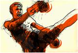 Muay - Kickboxing Poster by  KUCO