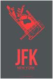JFK New York Poster 2 Poster by  NaxArt