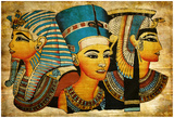 Ancient Egyptian Parchment Prints by  Maugli-l