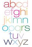 Rainbow Alpha Posters av  Avalisa
