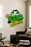 Top Gear - Stig Demolition Crew Wall Decal
