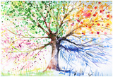 Árvore Posters por  DannyWilde