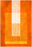 Orange Paper 2 Prints by  NaxArt