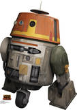 Star Wars Rebels - Chopper Lifesize Standup Cardboard Cutouts