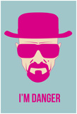I'm Danger Poster 2 Prints by Anna Malkin