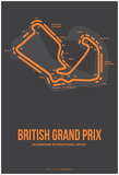 British Grand Prix 3 Prints by  NaxArt