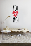 Toi et Moi Wall Decal