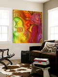 Crazy Colors 1 Prints by  Jefd