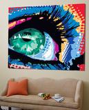 Iced Eye Poster von Ray Lengelé