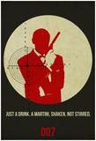 James Poster Black 4 Plakater af Anna Malkin