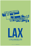 LAX Los Angeles Poster 1 Print by  NaxArt