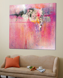Pink Orchid Posters by Carole Malcolm
