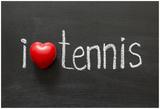 Love Tennis Posters af Yury Zap