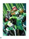 DC Green Lantern Comics: Alex Ross Art Prints