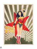 DC Wonder Woman Comics: New Constructivism Posters