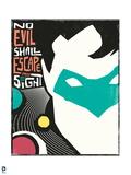 DC Green Lantern Comics Print