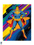 DC Superman Comics: Superman Black Light Comics Posters
