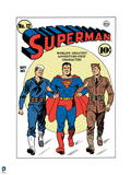 DC Superman Comics: Superman 75th Exclusive Covers Prints