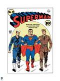 DC Superman Comics: Superman 75th Exclusive Covers Prints