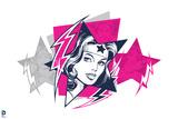 DC Wonder Woman Comics Posters