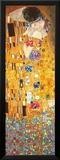 El beso - Tinta metálica  Láminas por Gustav Klimt
