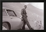 James Bond met Aston Martin Poster
